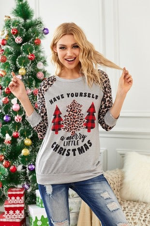 Have yourself a Merry Little Christmas top