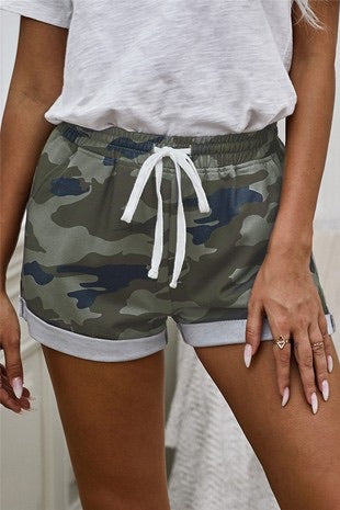 RUNNING AROUND TOWN CAMO SHORTS