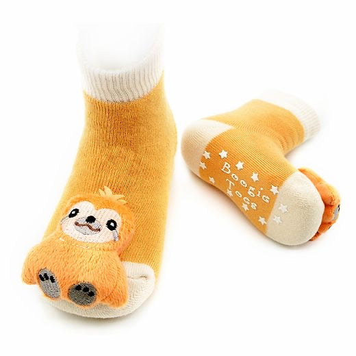 Sloth Boogie Toes Rattle Socks