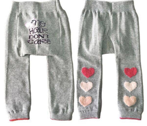 No Hair Don't Care Baby Boogie Tights 6-12 months