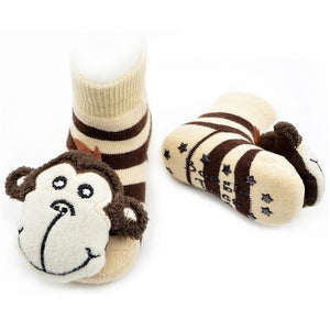 Boy Monkey Boogie Toes Rattle Socks