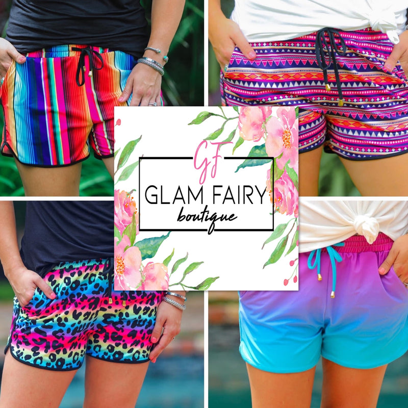 SUMMERTIME SHORTS - IN STOCK!!!