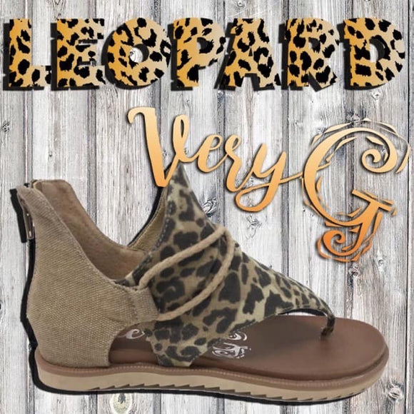 ** SPARTA CHEETAH SANDAL (IN STOCK READY TO SHIP)