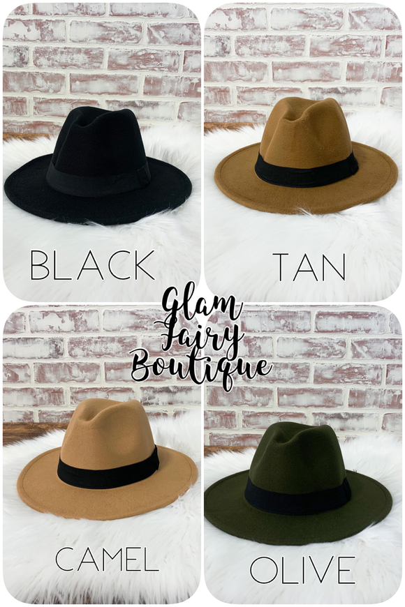 FALL COLLECTION FELT HATS