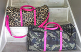 THE HILTON DUFFLE BAG - LEOPARD