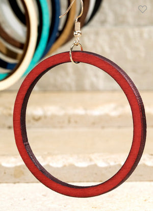THE PERFECT HOOP EARRING (Multiple colors)
