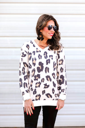 The Mallory Leopard print Top