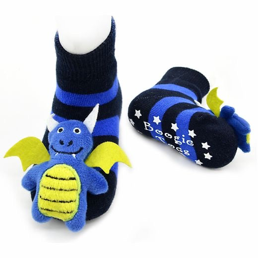 Blue Dragon Boogie Toes Rattle Socks