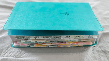 COLORFUL BIBLE TABS - SET OF 80