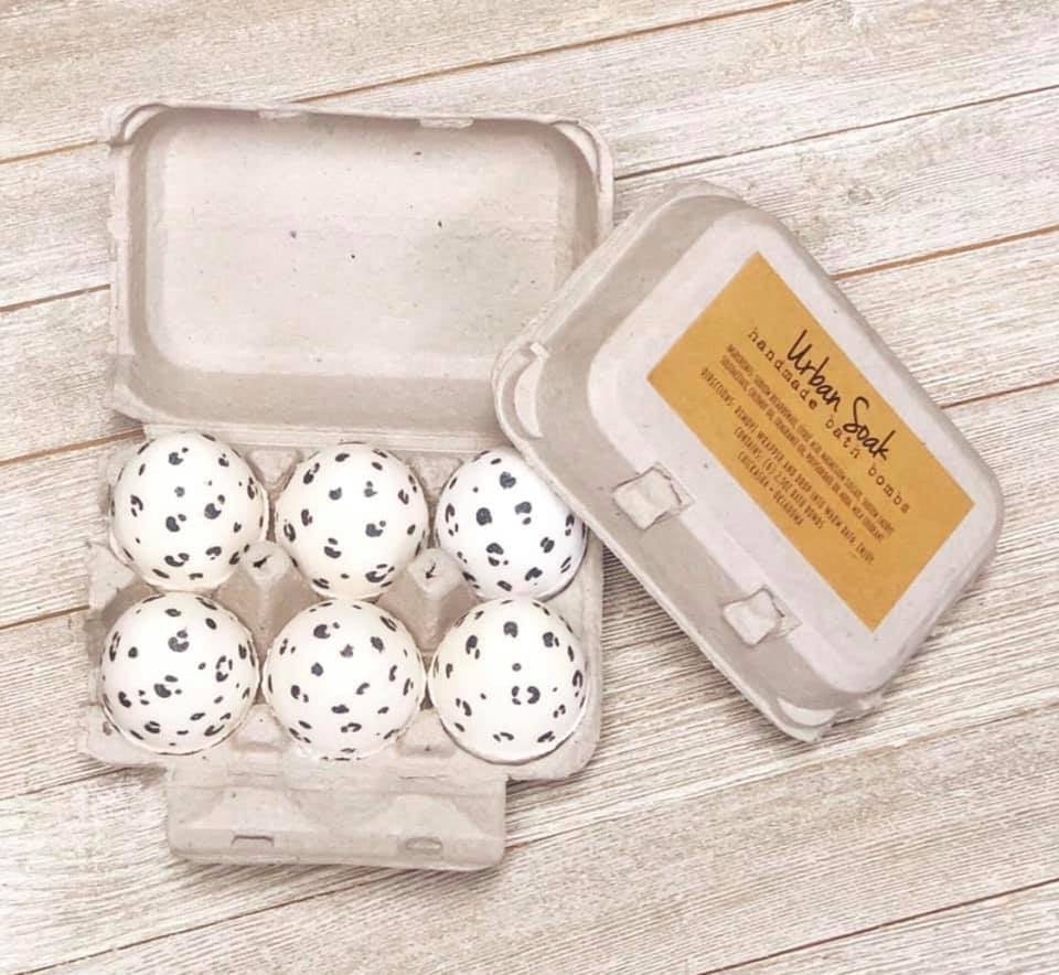 URBAN SOAK 6pc BATH BOMB EASTER COLLECTION