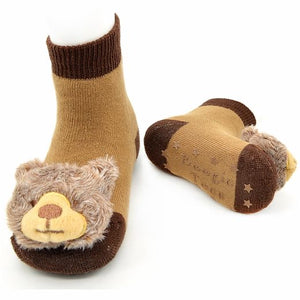 Grizzly Bear Boogie Toes Rattle Socks