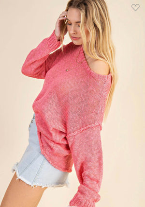 THE KORI PINK SWEATER