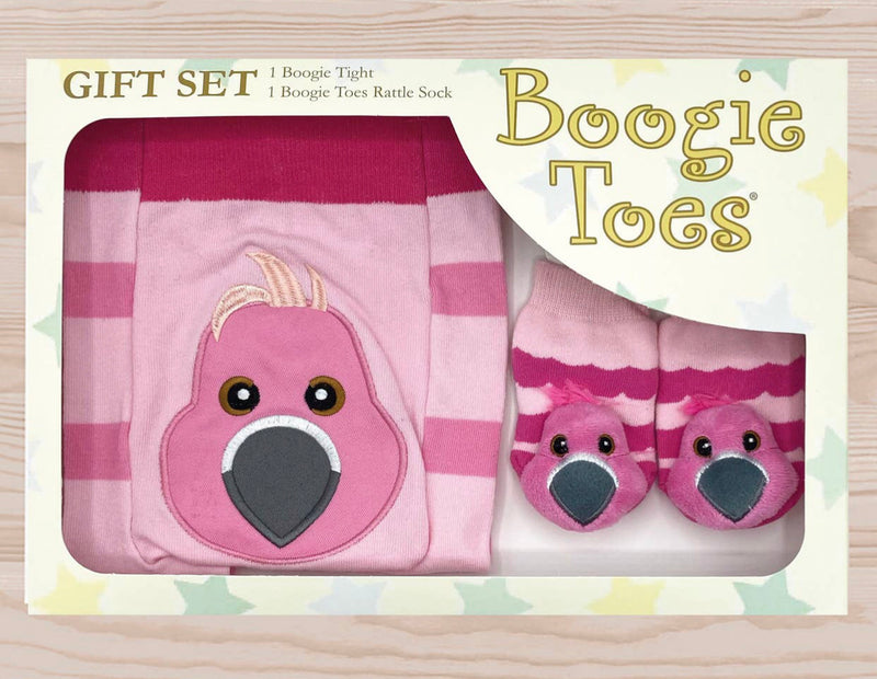 Flamingo Boogie Toes Gift Set 6-12 months