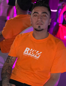 Rich Logo (Highlighter Orange) T-Shirt