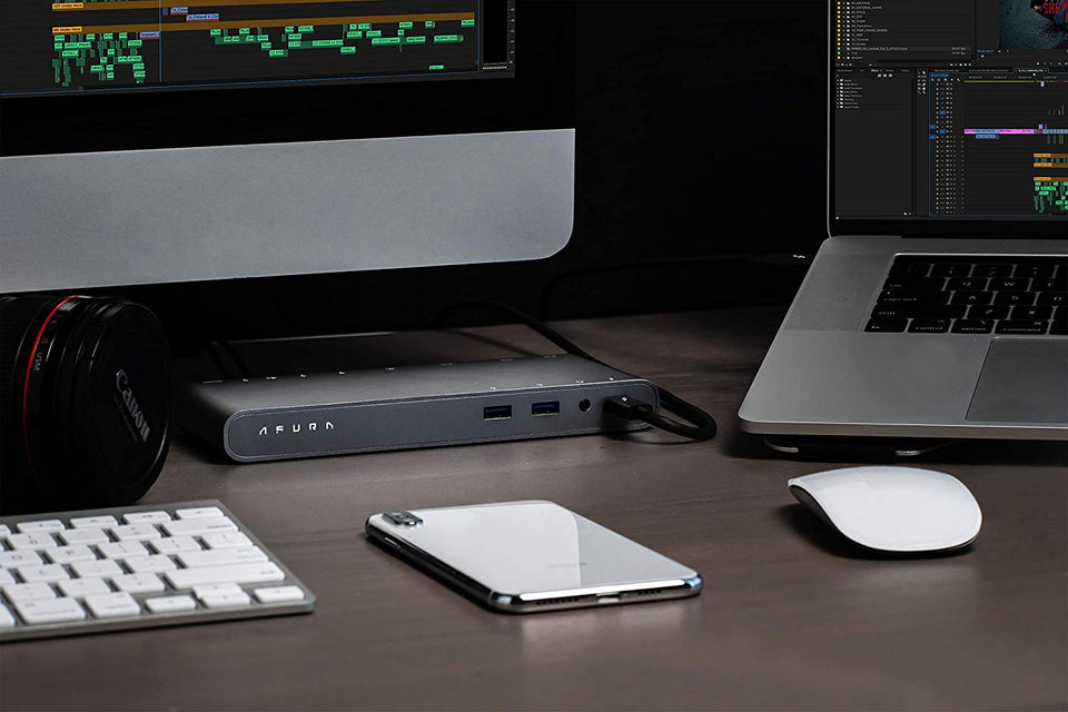 Titanium Series | Thunderbolt 3 Dock
