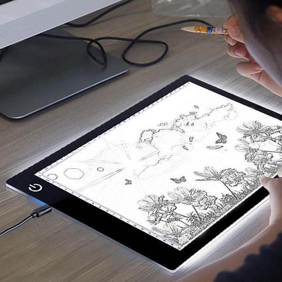 LED Drawing Graphic Tablet