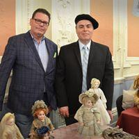 "Antique Doll Michael Canadas and David Robinson ""The London Show"""