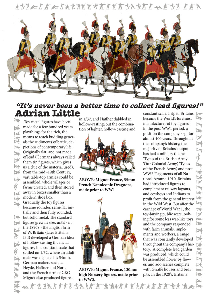 Collecting Lead Figures - Adrian Little