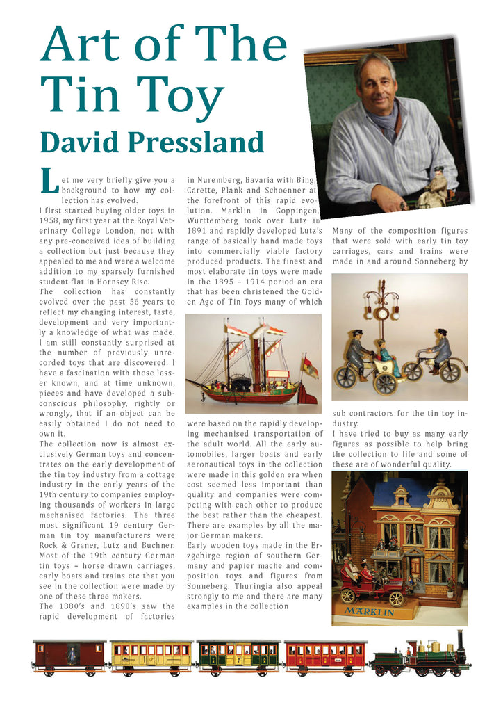 Art of The Tin Toy - David Pressland