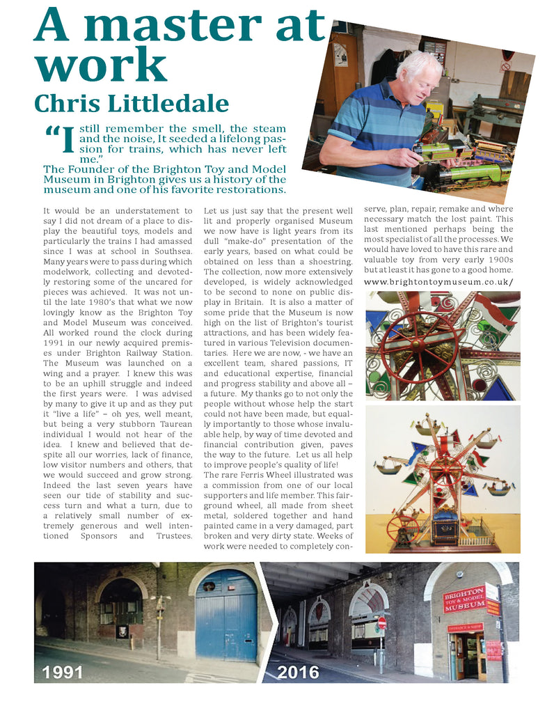 Chris Littledale - A Master at work