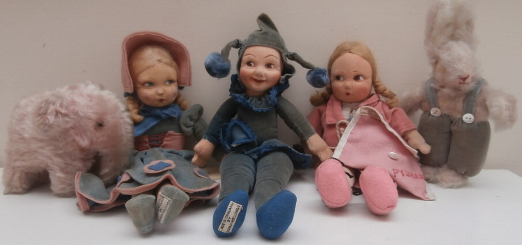 Gillian Trotter The Optimists. Collector Antique Dolls