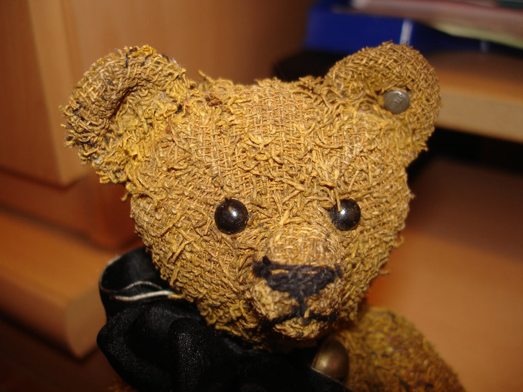 Austrobear. Ingrid Robson. Antique Bear and Doll Collector and Restorer