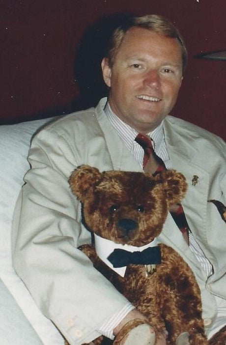 David Worland. Antique Bear Collector.