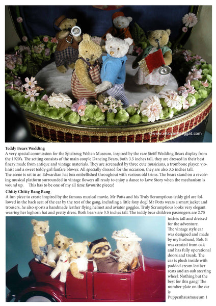 Beth's Bears – BEARS MADE BY - Elizabeth Leggat