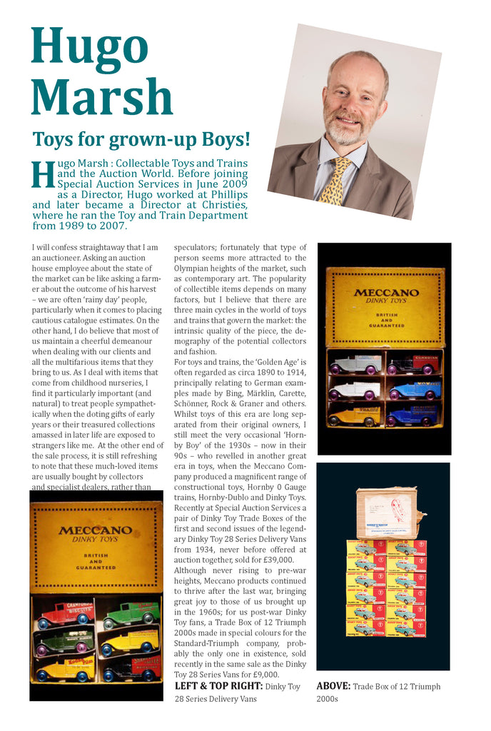 Toys For Grown Up Boys - Hugo Marsh