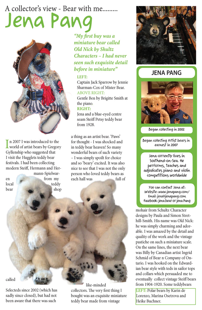 A collector's view - Bear with me......... - Jena Pang