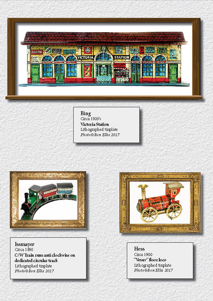 RON'S TINPLATE LITHO GALLERY - Ron Ellis