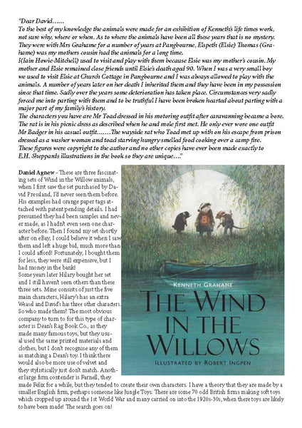 The Wind In The Willows - Hilary Pauley