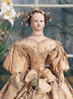"Antique Doll ""Did you know?"" Part 1 Early Papier mache Doll Seminar with Chris Madrid"