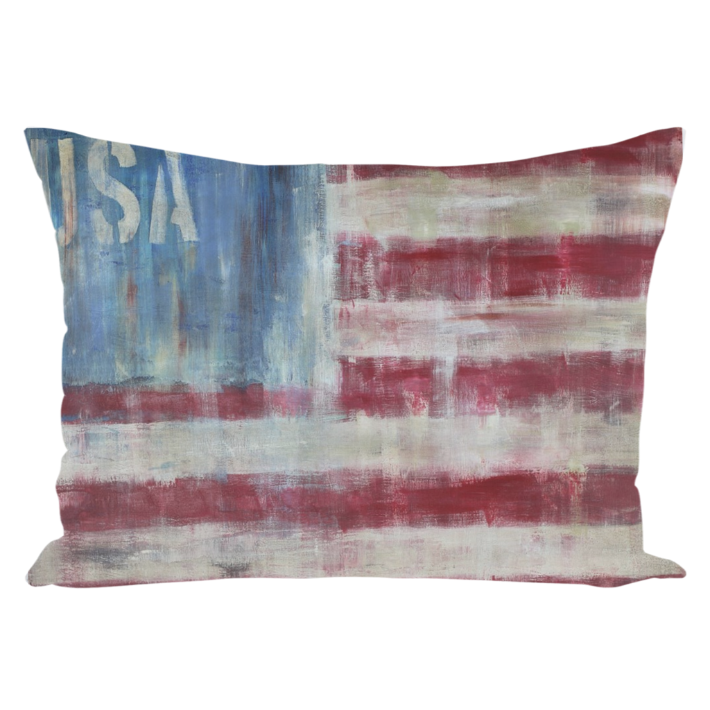 USA Throw Pillow 14 x 2
