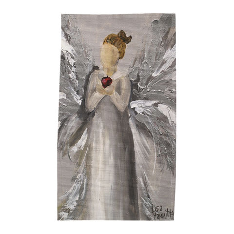 TEACHER ANGEL TEA TOWEL