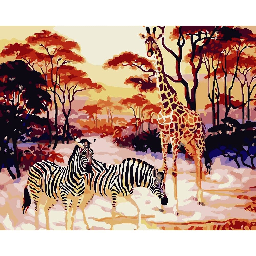 Image result for wild animals painting