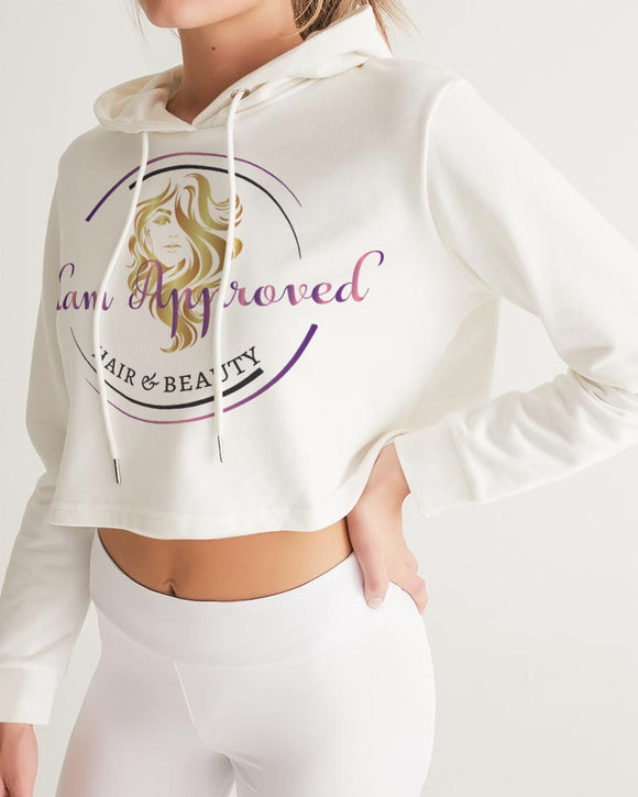 Glam Approved Women's Cropped Hoodie