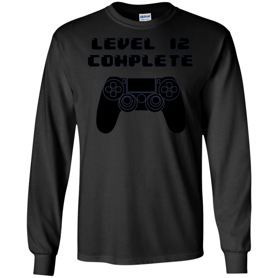 12th Birthday Shirt 12 Years Old Gaming Long Sleeve