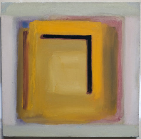 Ray Duncan, Untitled 4, Series 9, painting, 40 x 40 x 2 cm