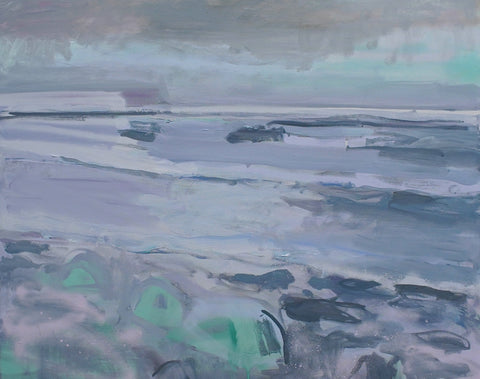 Lisa Ballard, Storm Sea, painting, 100 x 80 x 2 cm