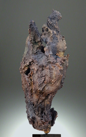 Eamonn Higgins, The Horse with Two Names, sculpture, 16 x 38 x 10 (depth) cm
