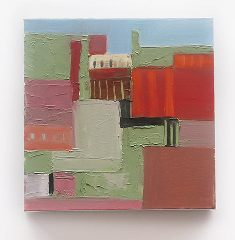 Ray Duncan, Untitled 1, painting, 30 x 30 cm