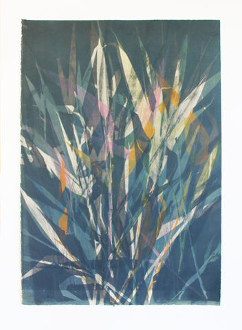 Anushiya Sundaralingam, Summer Breeze 5 (Series 1), 40.5 X 57 cm
