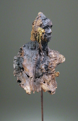 Eamonn Higgins, That Was When, sculpture, 16 x 43 x 11 (depth) cm