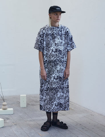 Postmodern camouflage Shirtdress