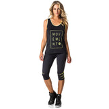 TANK TOP 242 MOVEMENT BLACK