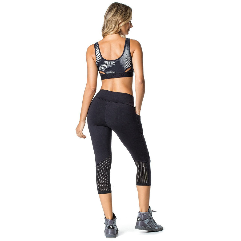 BLACK ENERGY CAPRI LEGGINGS 54