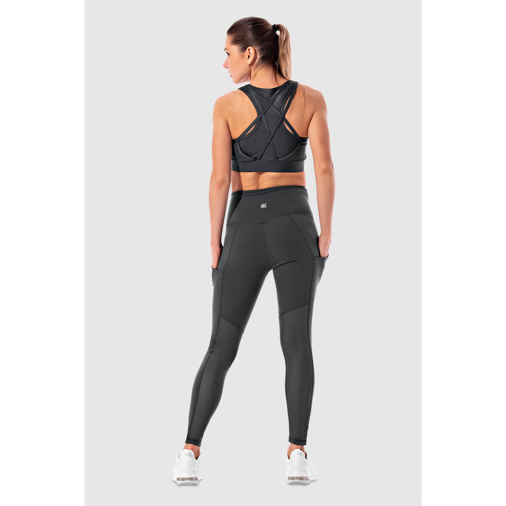 The AMI: Breathable Back Leg Mesh with Pockets
