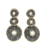 PRE ORDER Large Three drop earrings