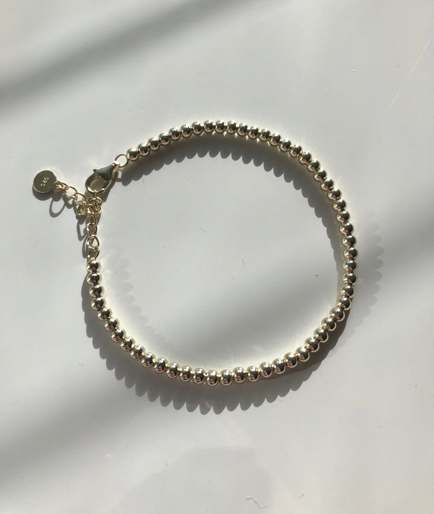 Jodie -Gold ball bracelet